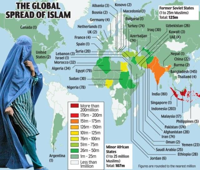 אסלאם בעולם