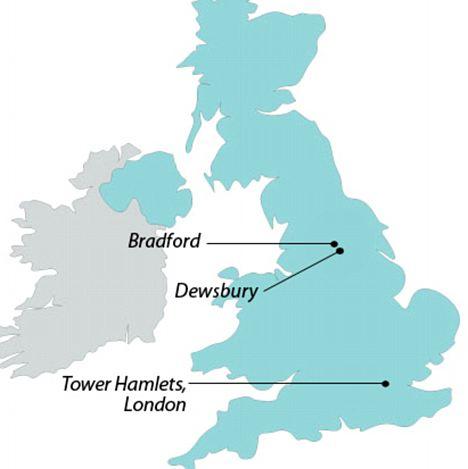 Islamic emirates in the UK