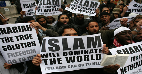 מוסלמים רוצים לשלוט בעולם