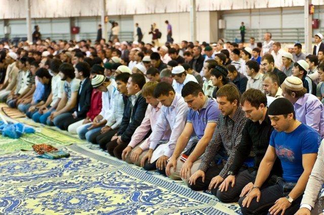 חג מוסלמי במוסקבה 1