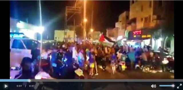 הפגנת ערבים ביפו