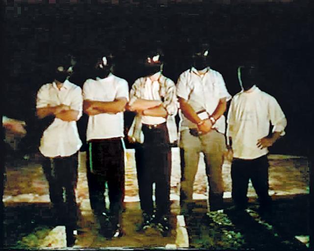 המשתתפים בטקס ההשבעה